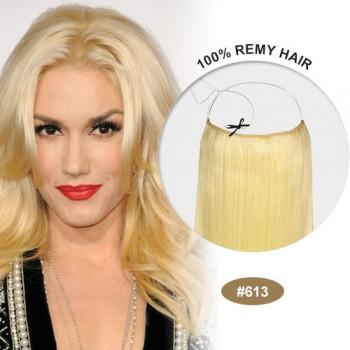 COCO Remy Hair Bleach Blonde(#613)