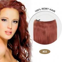 COCO Remy Hair Dark Auburn(#33)