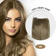 COCO Human Hair Ash Brown(#8)