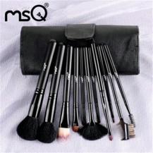 11pcs Black Makeup Brush Set