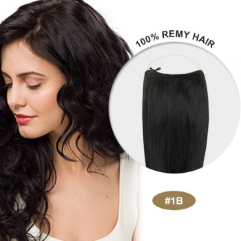 COCO Remy Hair Natural Black(#1B)