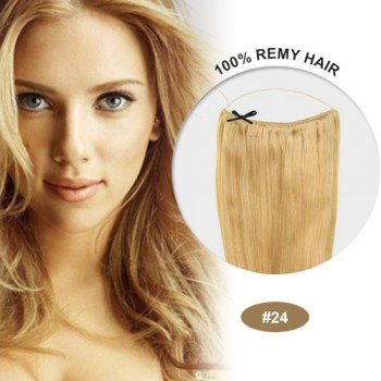 COCO Remy Hair Ash Blonde(#24)