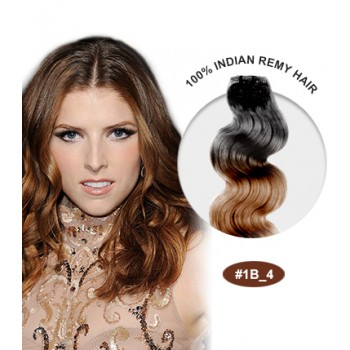 """16"""" #1B/4 Ombre Body Wave 100% Remy Human Hair"""