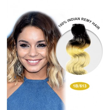 """16"""" #1B/613 Ombre Body Wave 100% Remy Human Hair"""