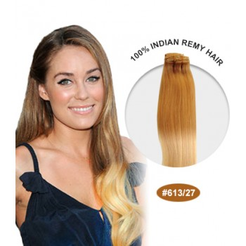 """16"""" #613/27 Ombre Straight 100% Remy Human Hair"""
