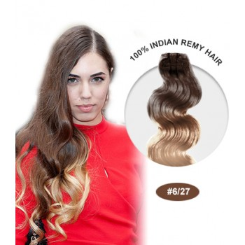 "16"" #6/27 Ombre Body Wave 100% Remy Human Hair"