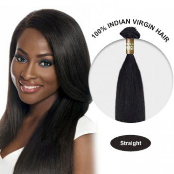 16 Inches Straight Indian Virgin Hair Wefts