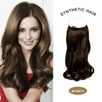 "COCO SYN 20"" Wavy Medium Brown(#4)"