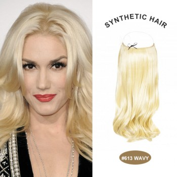"COCO SYN 20"" Wavy Bleach Blonde(#613)"