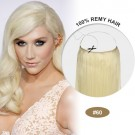 COCO Remy Hair White Blonde(#60)