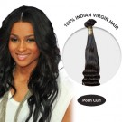 10 Inches Posh Curl Indian Virgin Hair Wefts