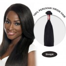 20 Inches Straight Peruvian Virgin Hair Wefts