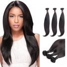 14 Inches*3 Straight Natural Black Virgin Malaysian Hair