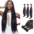 18/20/22 Inches Straight Natural Black Virgin Malaysian Hair