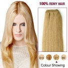 """18"""" Strawberry Blonde(#27) Light Yaki Indian Remy Hair Wefts"""
