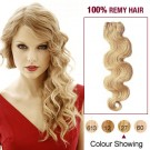 """16"""" Strawberry Blonde(#27) Body Wave Indian Remy Hair Wefts"""