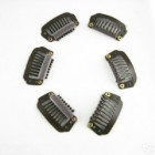 8 Teeth Hair Extension Clips Coffee 20pcs