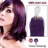 """18"""" Lila 100S Micro Loop Remy Human Hair Extensions"""