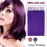 """16"""" Lila 20pcs Tape In Human Hair Extensions"""