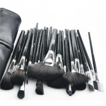 32pcs Black Makeup Brush Set