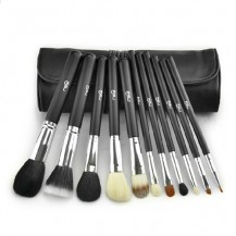 11pcs Black Makeup Brush Set