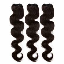20 Inches Dark Brown(#2) Body Wave Indian Remy Hair Wefts Bundle