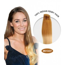 "16"" #613/27 Ombre Straight 100% Remy Human Hair"