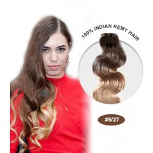 "14"" #6/27 Ombre Body Wave 100% Remy Human Hair"