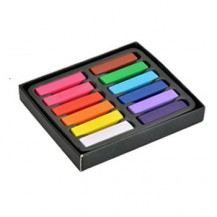 12 Color Temporary Chalk Pastel