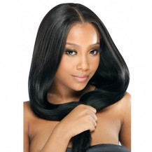 "20"" Jet Black(#1) 7pcs Remy Clip In Hair Extensions-KINGHAIR"