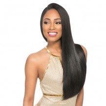 "22"" Off Black(#1B) 7pcs Remy Clip In Hair Extensions-KINGHAIR"