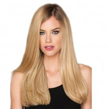 """22"""" Dirty Blonde(#18) 7pcs Remy Clip In Hair Extensions-KINGHAIR"""