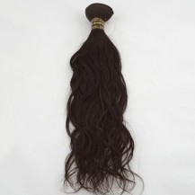 "18"" Medium Brown(#4) Natural Wave Indian Remy Hair Wefts"
