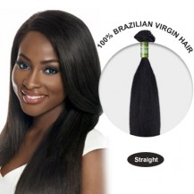 28 Inches Straight Brazilian Virgin Hair Wefts