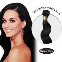 28 Inches Natural Wave Indian Virgin Hair Wefts