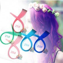 Mixed Pure Color Clip in Single HairPiece 1 bundle (5pcs)