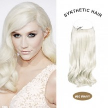 "COCO SYN 20"" Wavy White Blonde(#60)"